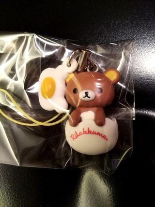 $20 ( 包郵 )鬆弛熊 San-x 2012 電話繩