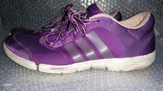 Adidas running shoes women purple