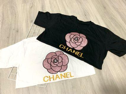 Chanel Rose T-shirt Instock