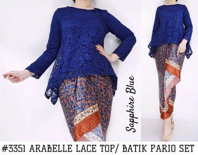 ARABELLE LACE TOP/ BATIK PARIO SET