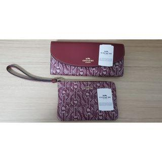 COACH woman wallet and wristlet for sale