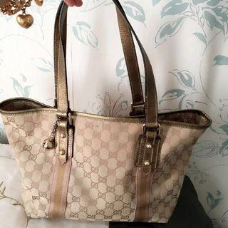 PRICE DOWN!!!!! ✂️Authentic Gucci Tote Bag Classic Gold