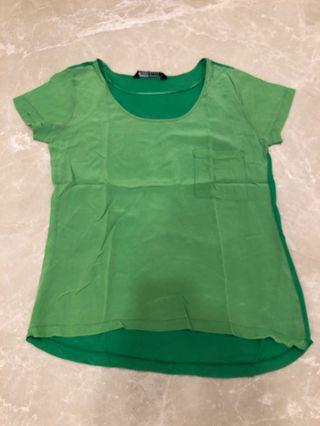 Zara Green Top