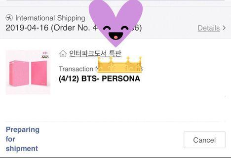 [Incoming Readystock] BTS Map Of The Soul : Persona
