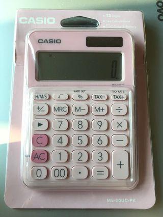 全新 Casio Calculator 計數機 計算機 MS-20UC-PK