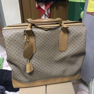 Authentic Gucci Micro Monogram Weekender Boston Travel Bag