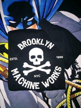 Sweatshirt Uniqlo Brooklyn machine work mastermind