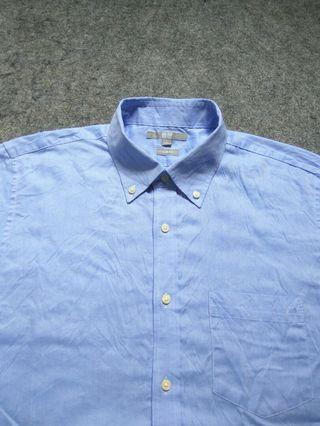 UNIQLO Button-down Shirt Short Sleeve Size L