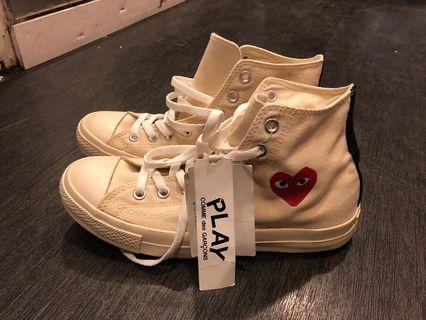🚚 Converse X CDG high cut shoes