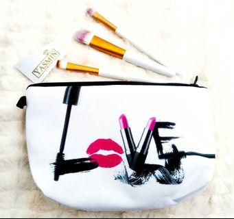 Yasmin Cute Travel Cosmetic Pouch Bag - Lovely Bae