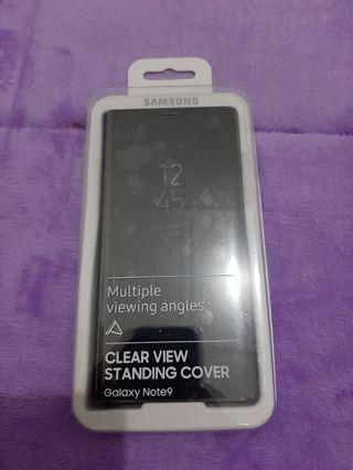 Clear View Standing Cover Samsung Galaxy Note 9 Original