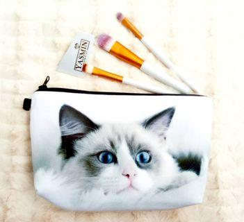 Yasmin Cute Travel Cosmetic Pouch Bag For Raya