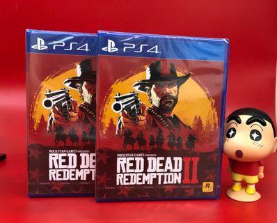 (全新PS4)🔥 Red Dead2 🔥(中文版)