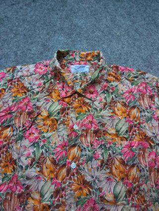 TRENDY CROSS Hawaiian Shirt Short Sleeve Size M