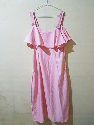 Longdress pink