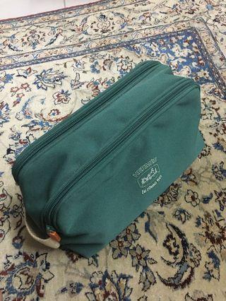 Authentic Hermes Canvas Pouch Bag