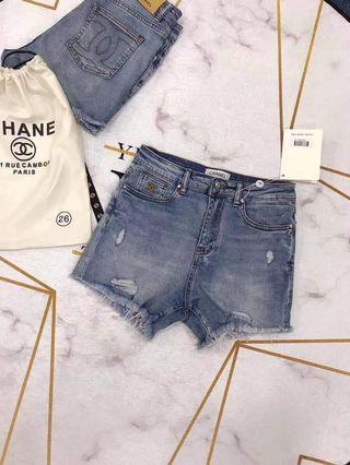 Chanel shorts authentic