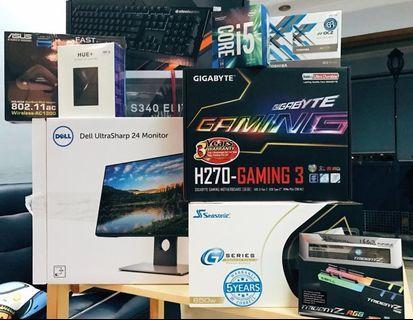 🚚 Gaming desktop (with monitor)