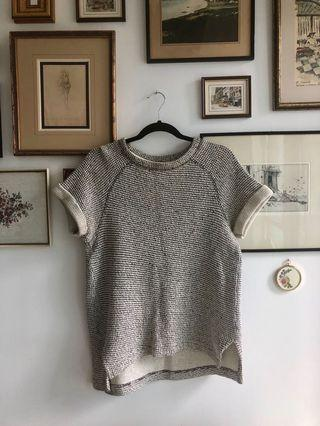 H&M short sleeve sweater - size US 6
