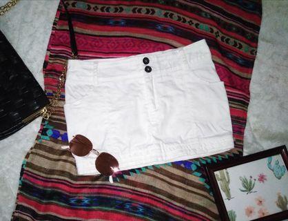 Miniskirt (white)