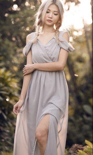 🚚 Heather Maxi Dress (Grey)
