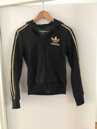 Adidas tracksuit top, size XS