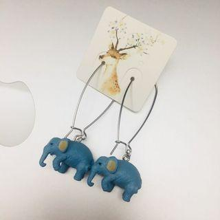 Elephant earrings 大象耳環