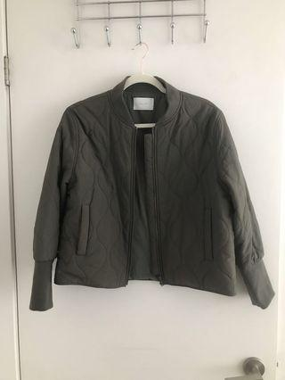 Oak and Fort bomber jacket - Size Medium