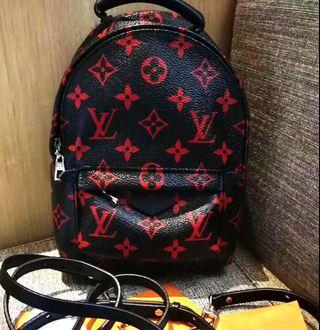 🆕👱♀️Authentic LV PALM SPRING Mini Infra Rouge