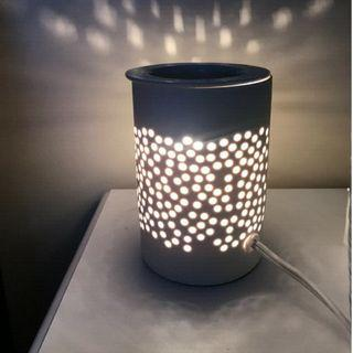 Saje Wellness Aroma Glow White Ceramic Light Diffuser