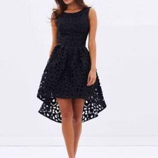 Chi Chi London Payton dress black size 10