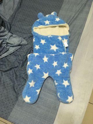 🚚 法蘭絨載造型嬰兒裝