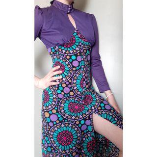 Vintage 70s Dress S/XS