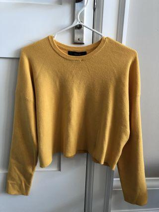 Forever 21 Yellow Long Sleeve