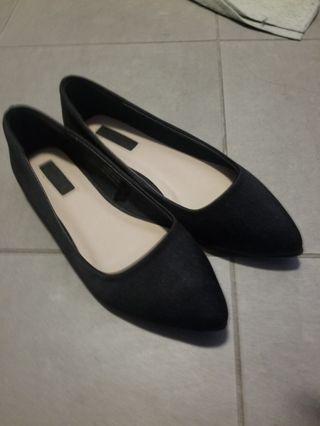 Forever 21 Black Flats