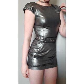 Futuristic Mini Dress XS/S