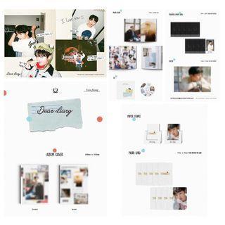 [PO] YOON JISUNG SPECIAL ALBUM 'DEAR DIARY'  * APR75
