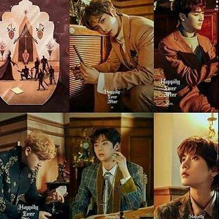 [PO] NUEST 6TH MINI ALBUM 'HAPPILY EVER AFTER'. * APR75