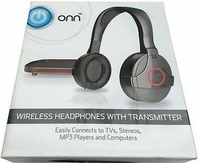 Wireless headset with transmitter