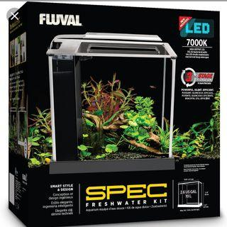 Fluval flex and spec from $125 to $200
