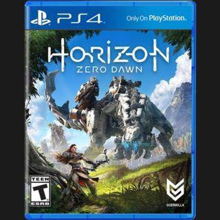 PS4 Horizon Zero Dawn Region All