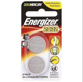 🚚 Energizer® Lithium 2032 (2pcs x 12pkt/box)
