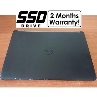 [Speedy SSD i5 Gen6 Laptop] Dell Latitude E7470: 512GB M.2 SSD! (Core i5 Notebook)
