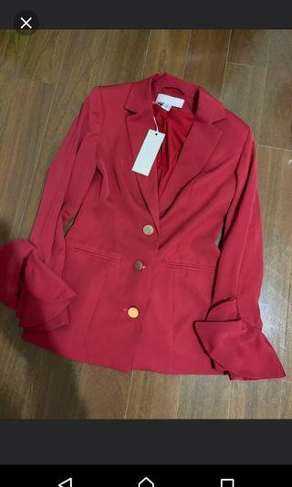 Keepsake the label AUS blazer, size small