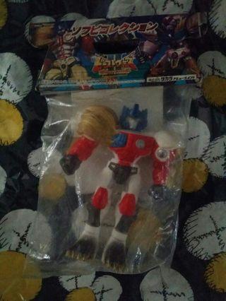 1998年稀有搪膠變形金剛 Beasts war 2 超生命体 柯柏文 transformers optimus prime