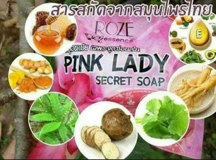 Pinklady Secret Soap