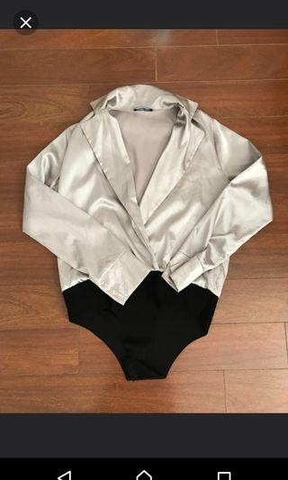 Missy Empire silky bodysuit