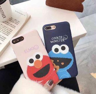 Elmo and Cookie Monster iPhone Case