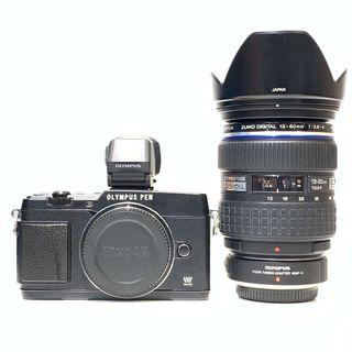Olympus Pen Lite E-P5 with 12-60mm F2.8-4 Lens + EVF