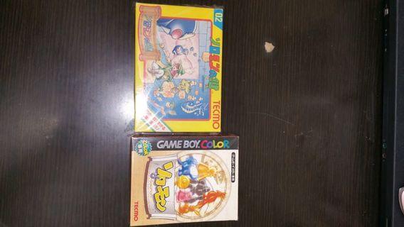 日本原裝罕有tecmo遊戲鍵之少年兩盒,齊說明書